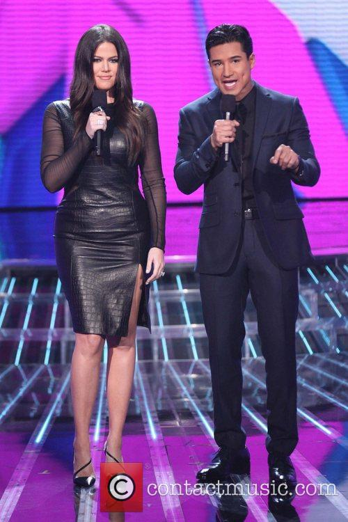 Khloe Kardashian, Mario Lopez, The X Factor