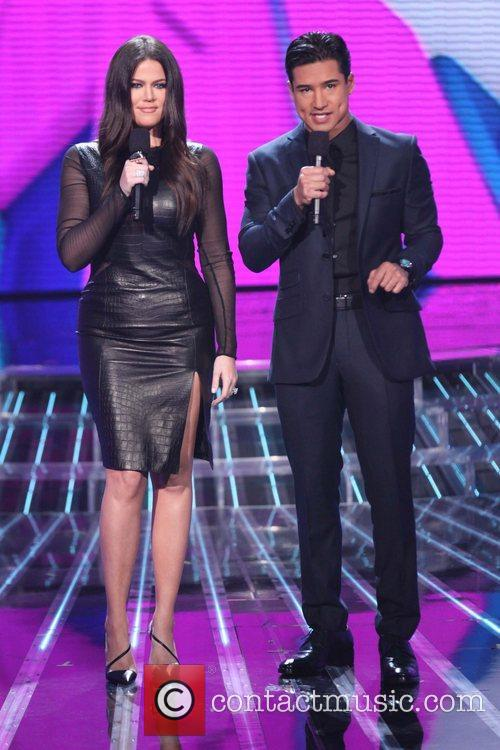 Khloe Kardashian, Mario Lopez and The X Factor 2