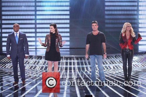 Reid, Demi Lovato, Simon Cowell, Britney Spears and The X Factor 1