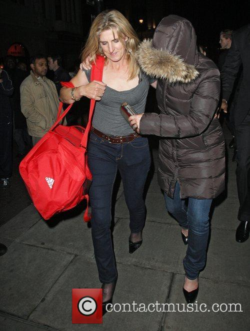 zara phillips leaving mahiki nightclub appearing worse 4140689