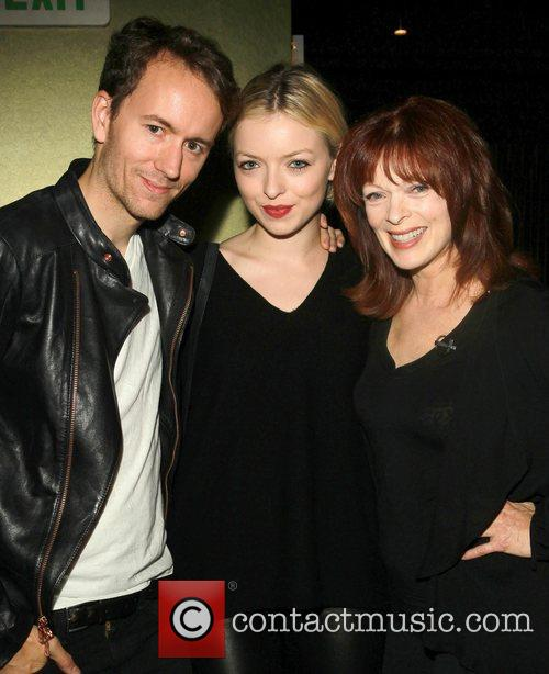 Tyler Shields, Francesca Eastwood and Frances Fisher 1