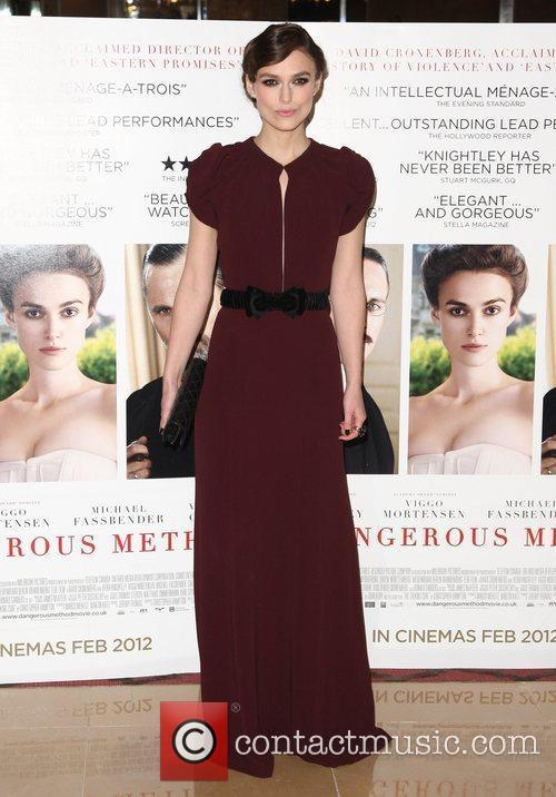 Keira Knightley The gala premiere of A Dangerous...