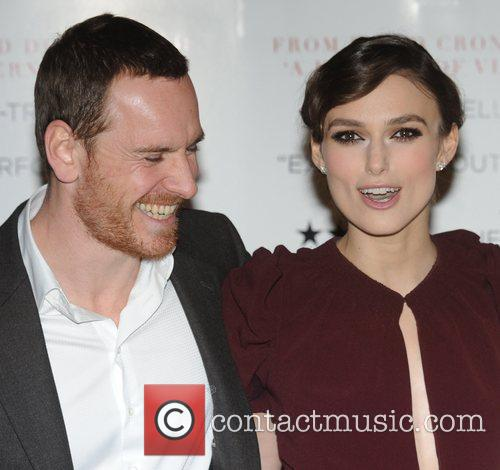 Keira Knightley and Michael Fassbender The gala premiere...