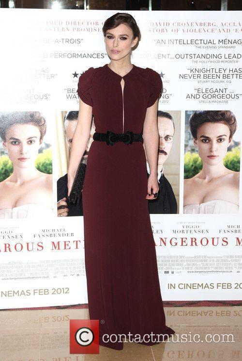 Keira Knightley, A Dangerous Method Premiere