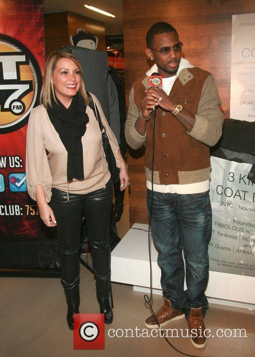Angie Martinez and Fabolous