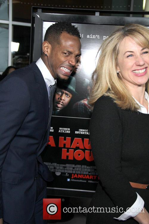 Marlon Wayans, Lisa Blum and Arclight Hollywood 8