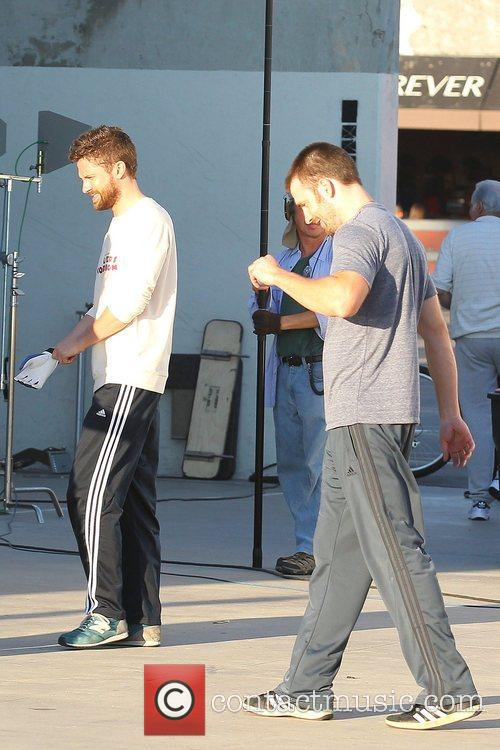 Topher Grace, Chris Evans, A Many Splintered Thing and Venice Beach 5
