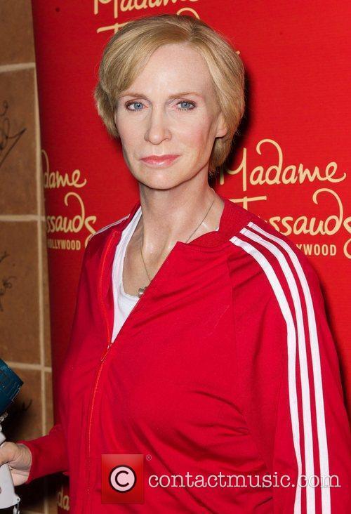 Jane Lynch and Madame Tussauds 1
