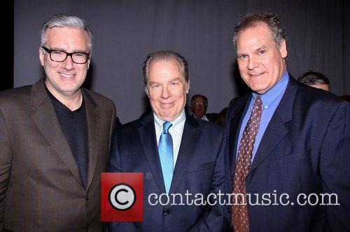 Keith Olbermann, Michael McKean, Jay O. Sanders and The Pearl Theatre 1