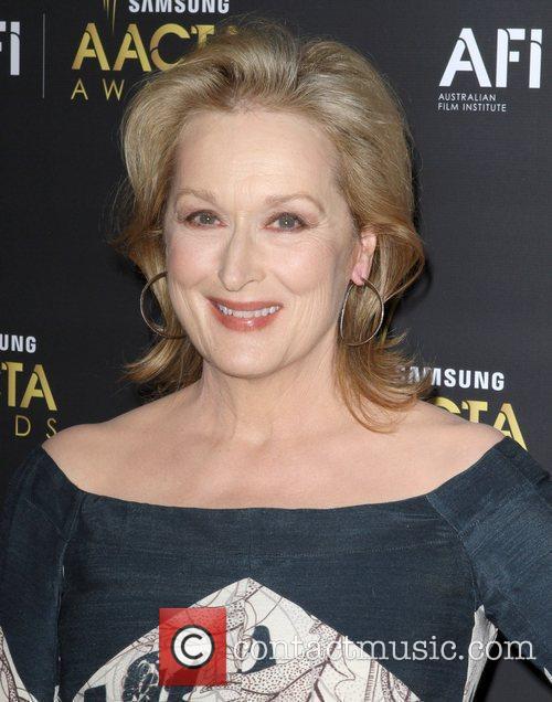 Meryl Streep 2012 Australian Academy of Cinema and...
