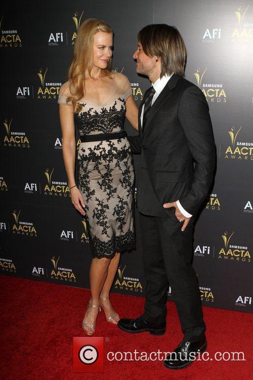 Nicole Kidman and Keith Urban 2012 Australian Academy...