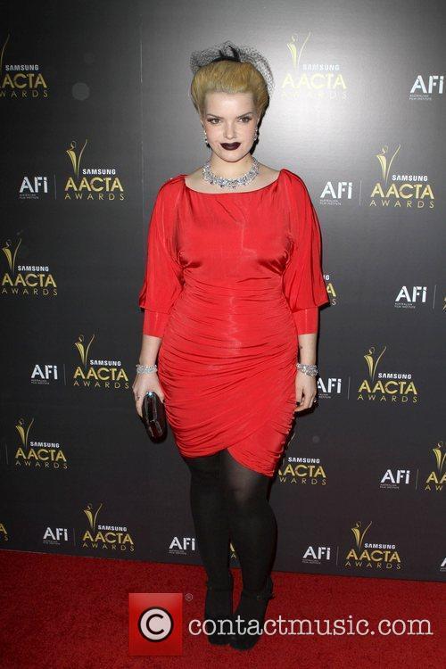 Sianoa Smit-McPhee 2012 Australian Academy of Cinema and...