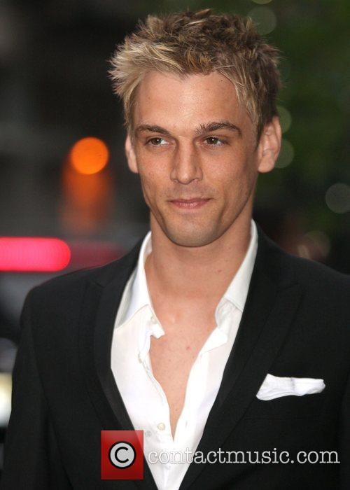 aaron carter returning to his hotel new 3861572