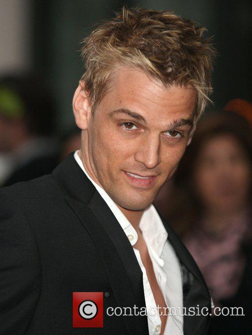 aaron carter returning to his hotel new 3861573
