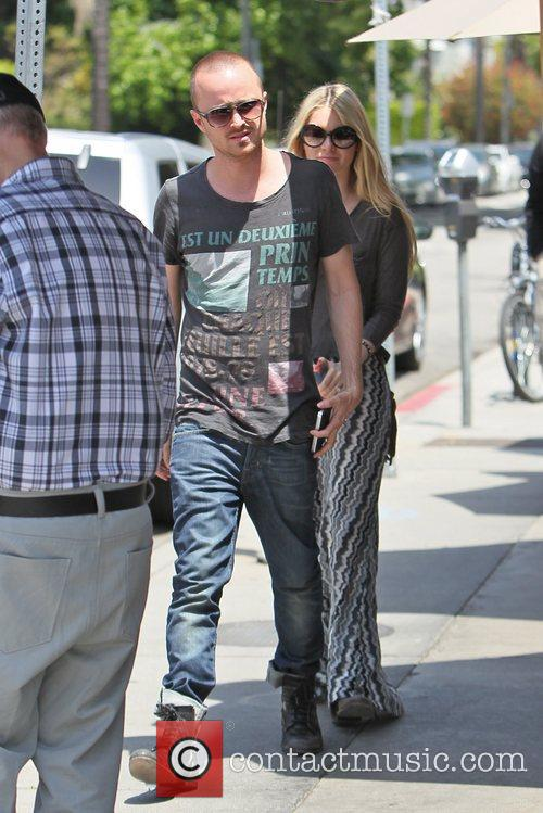 'Breaking Bad' Star Aaron Paul and his fiance...