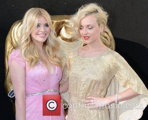 Fearne Cotton and Holly Willoughby  The 2012...