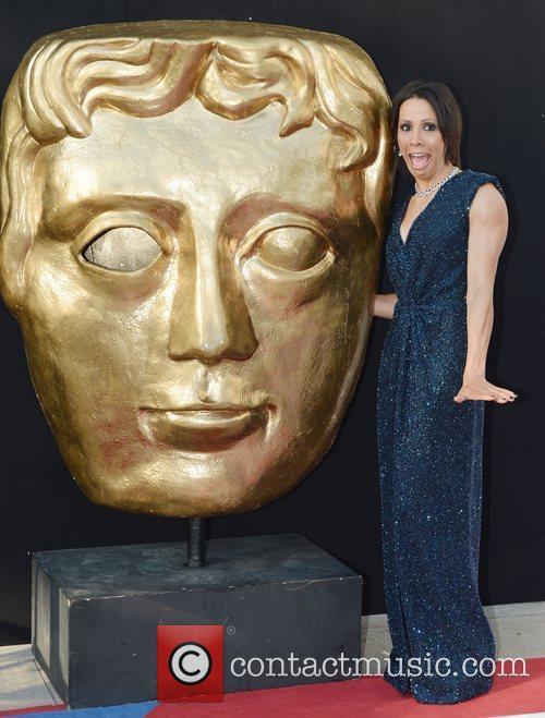 Kelly Holmes and British Academy Television Awards