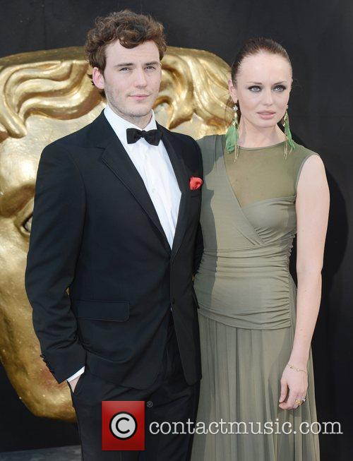 Laura Haddock, Sam Claflin and British Academy Television Awards 3