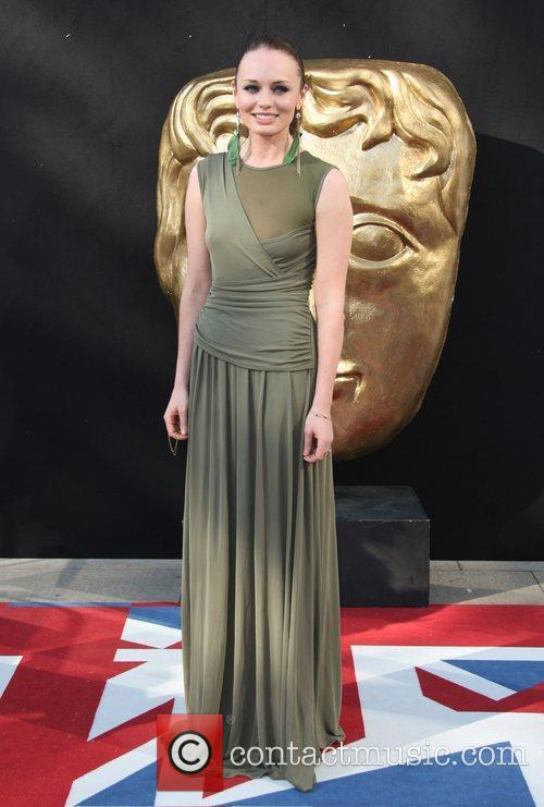 Laura Haddock and Bafta 10