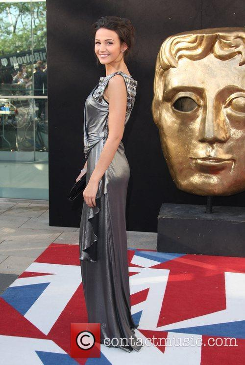 Michelle Keegan and Bafta 1