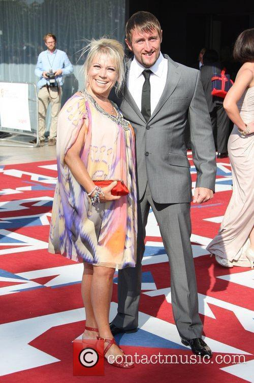Tina Malone and Bafta 3