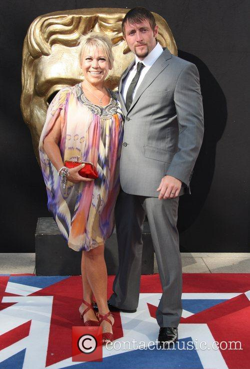 Tina Malone and Bafta 1