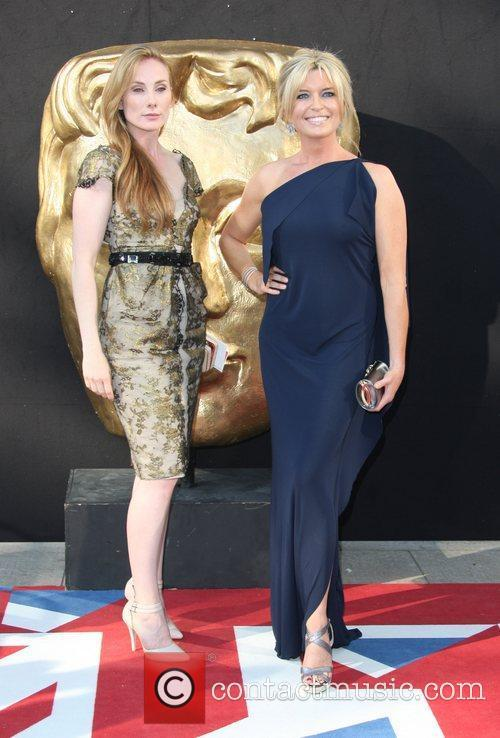 Rosie Marcel and Tina Hobley The 2012 Arqiva...