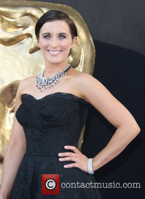 Vicky Mcclure and Bafta 6