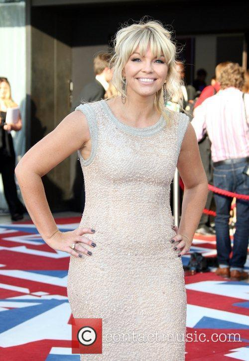 Kate Thornton and Bafta 1