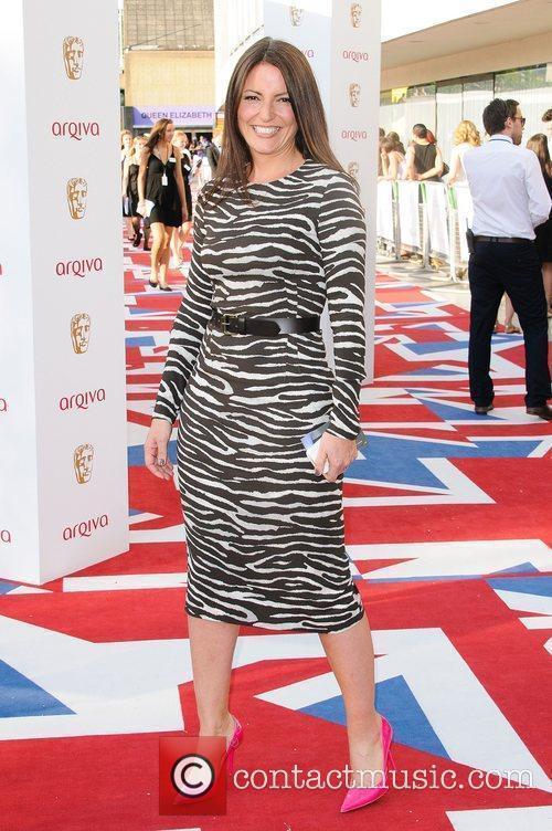 Davina McCall The 2012 Arqiva British Academy Television...