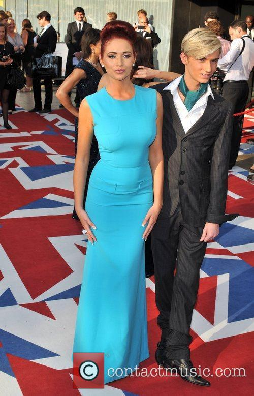 Amy Childs and Harry Derbidge The 2012 Arqiva...