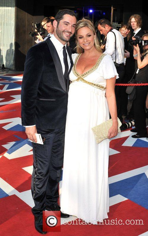 Tamzin Outhwaite, Tom Ellis and British Academy Television Awards 2