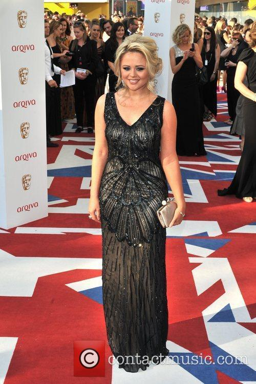 emily atack the 2012 arqiva british academy 5853012