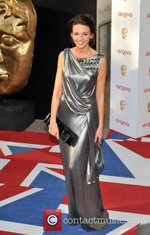 Michelle Keegan and British Academy Television Awards 1