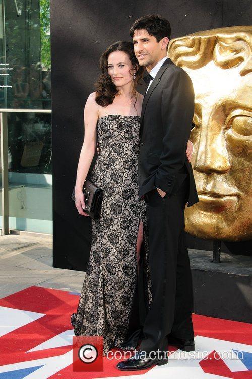 Lara Pulver and Raza Jaffrey The 2012 Arqiva...