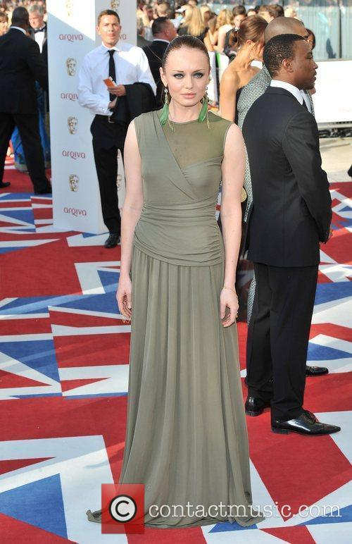 Laura Haddock and British Academy Television Awards 4