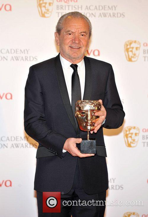Sir Alan Sugar and British Academy Television Awards 2