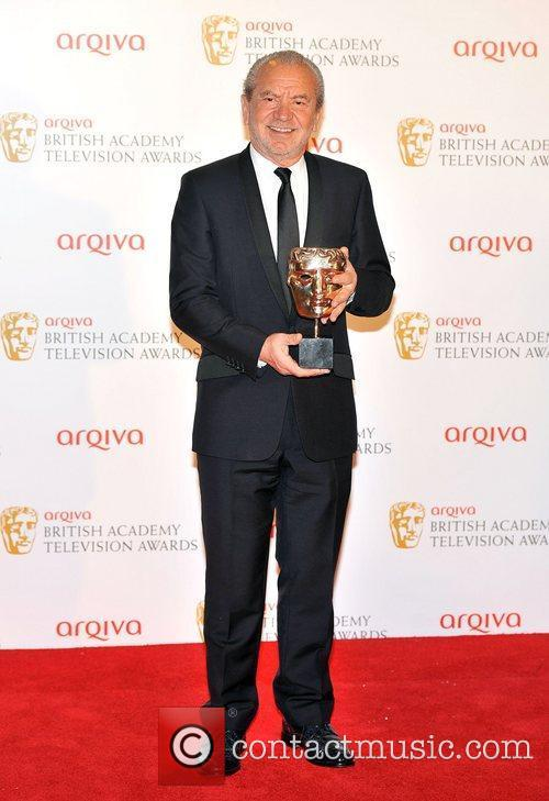 Lord Alan Sugar The 2012 Arqiva British Academy Television Awards held at the Royal Festival Hall - Winners Board. London, England