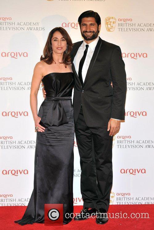 Sofie Grabol and Kayvan Novak The 2012 Arqiva...