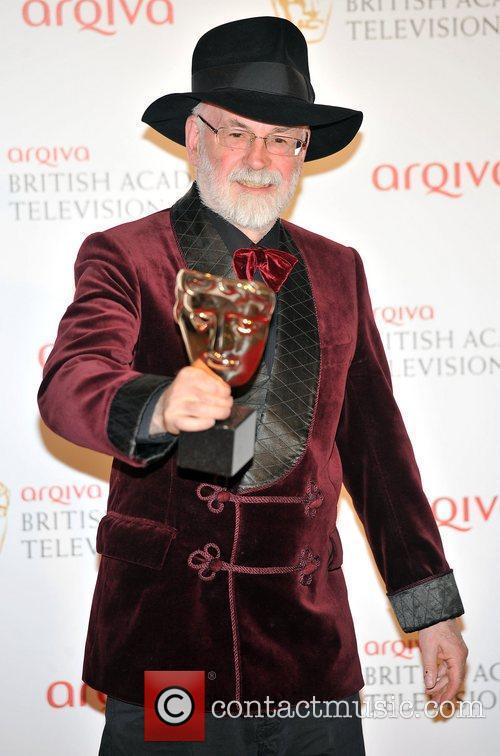 Terry Pratchett and British Academy Television Awards 1