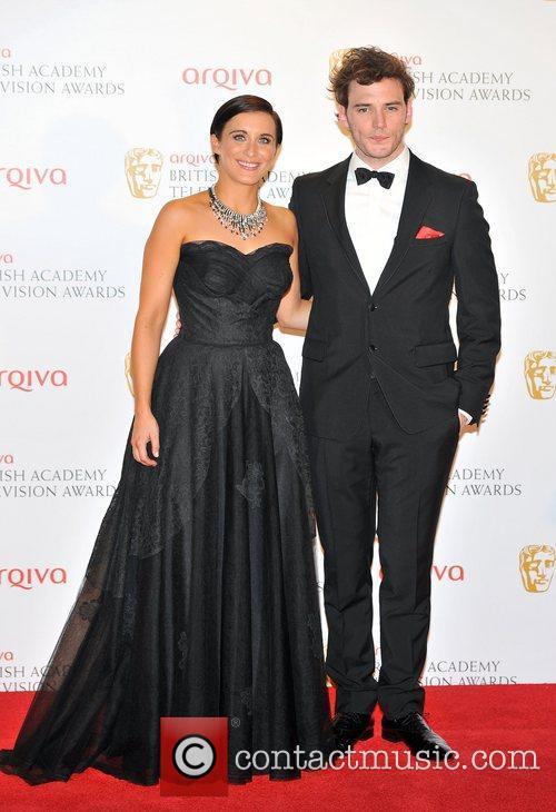 Vicky McClure, Sam Claflin The 2012 Arqiva British...