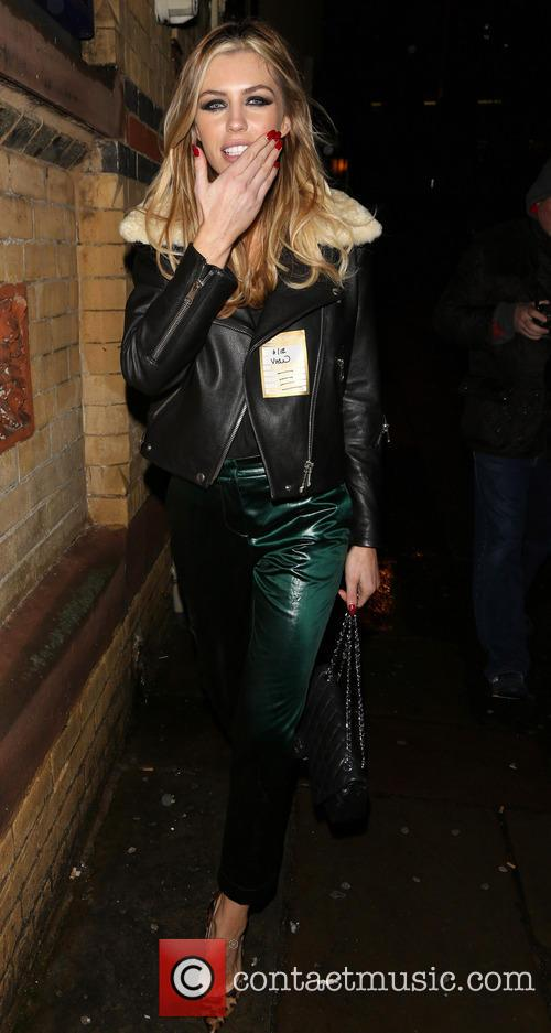 abbey clancy aka abigail clancy arrives at 20019823