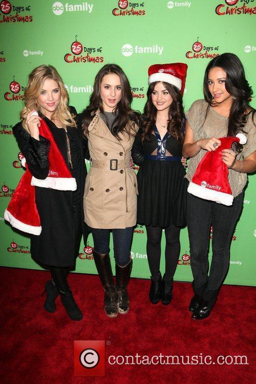 Ashley Benson, Lucy Hale and Shay Mitchell 3