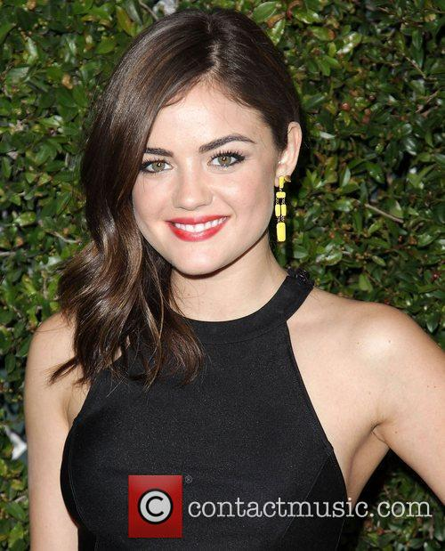 Lucy Hale ABC Family West Coast Upfronts party...