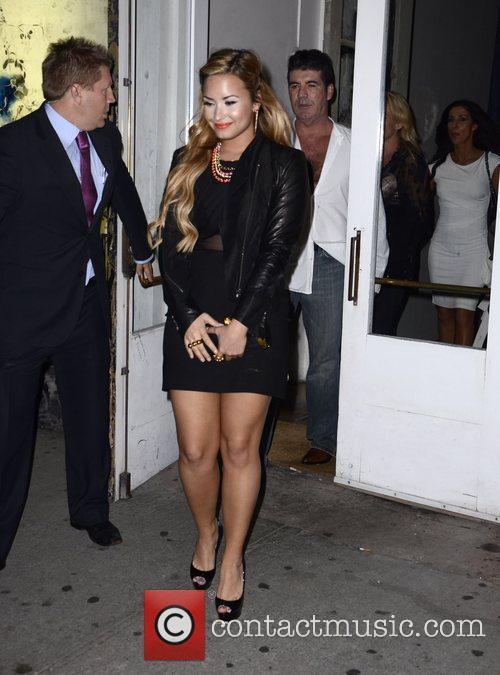 Demi Lovato, Simon Cowell and The X Factor 3