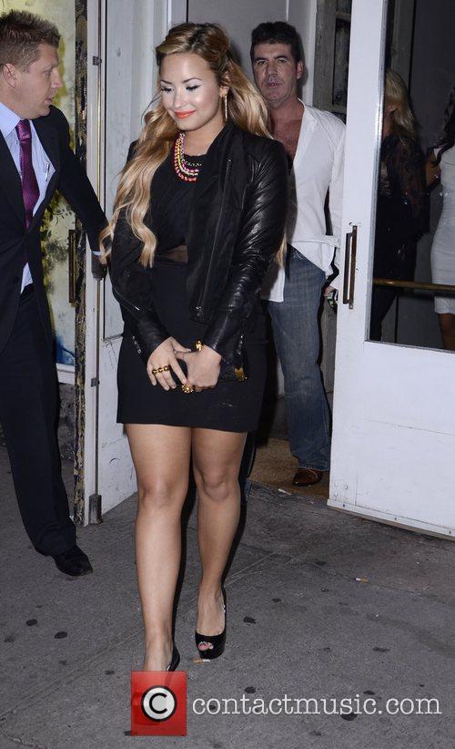Demi Lovato, Simon Cowell and The X Factor 6