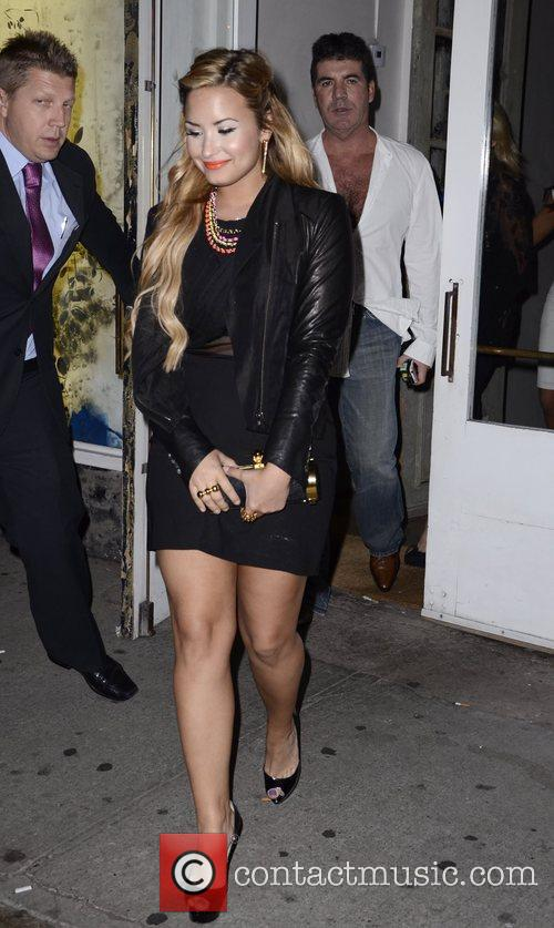 Demi Lovato, Simon Cowell and The X Factor 7