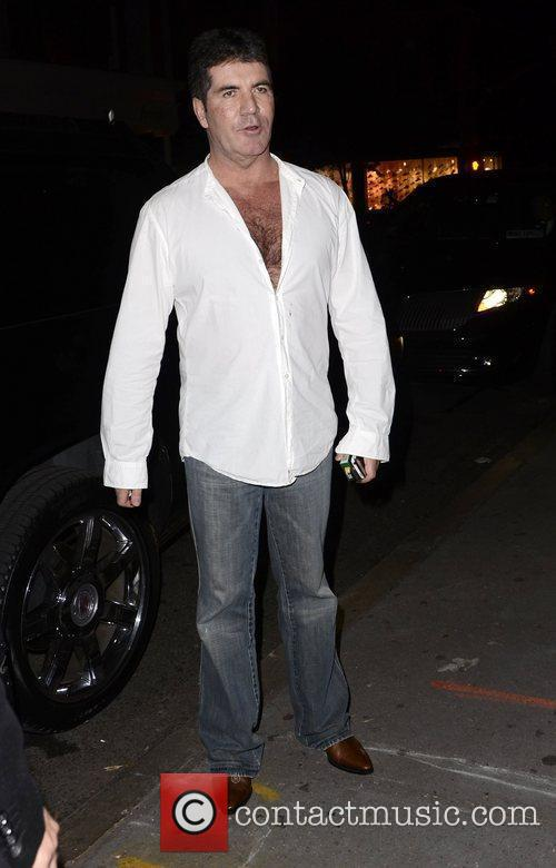 Simon Cowell and The X Factor 2