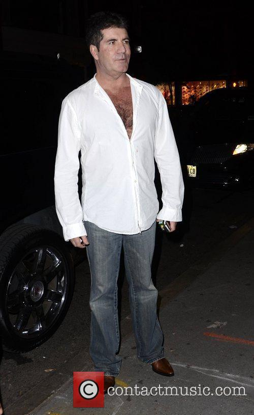 Simon Cowell and The X Factor 6