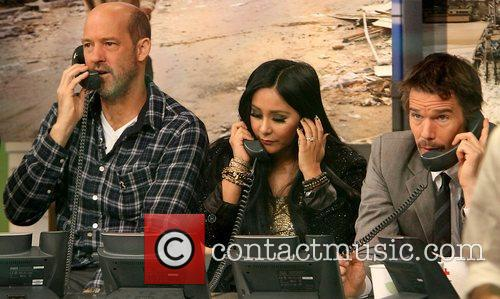 Anthony Edwards, NIcole 'Snooki' Polizzi, and Ethan Hawke Celebrities come together for ABC's 'Day of Giving' Telethon, to raise funds for the victims affected by Hurricane Sandy New York City, USA